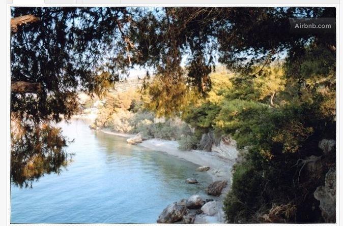 Waterfront Bungalow Kineta, holiday rental in Porto Germeno