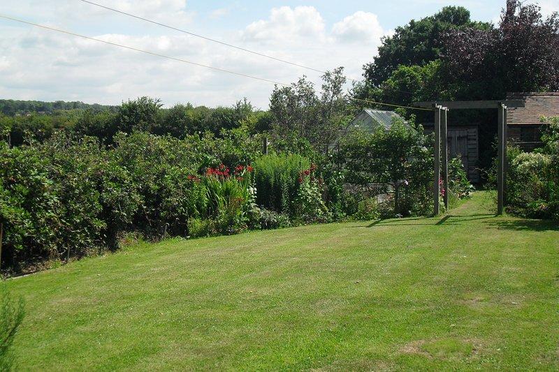 El jardín El jardín privado es para el uso exclusivo de los huéspedes