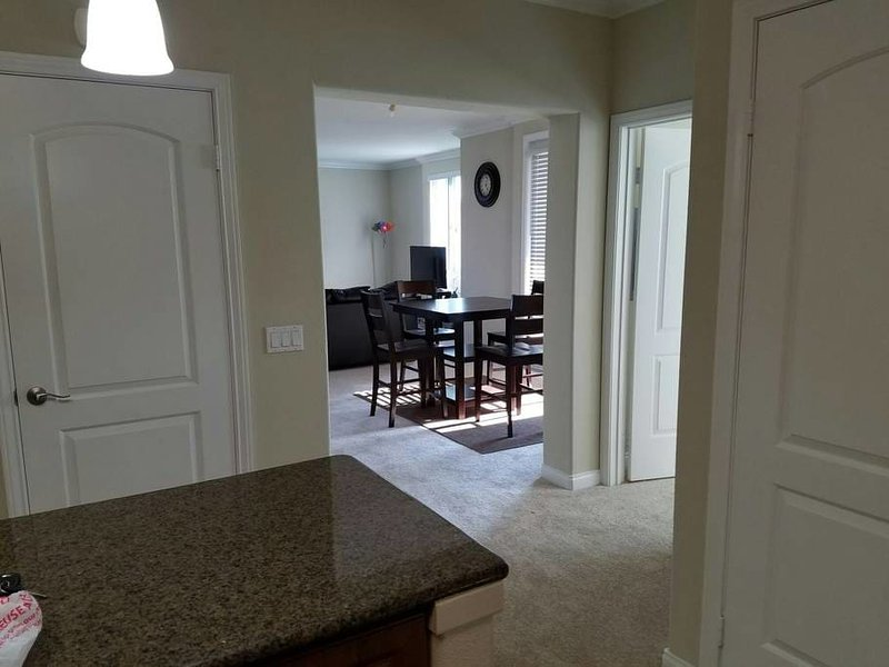 DINING ROOM FROM THE KITCHEN