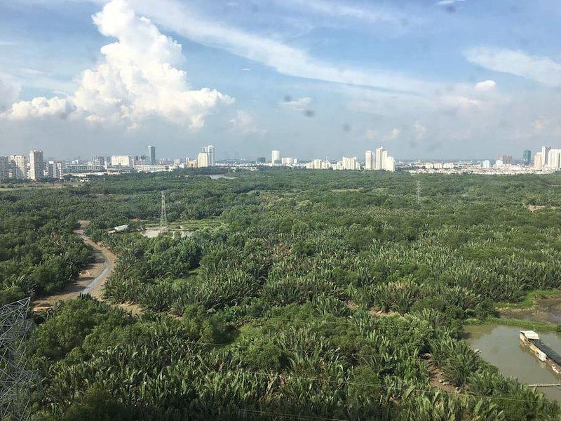 3 Bdrs beautiful view at Saigon Apt, holiday rental in Ho Chi Minh City