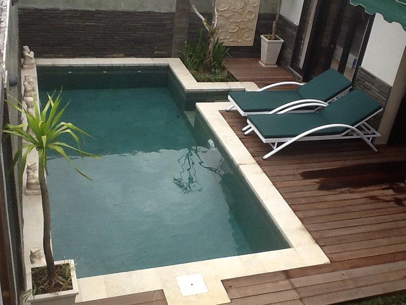 Su piscina privada