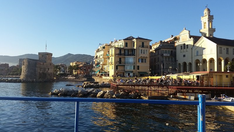 View of the town of Rapallo