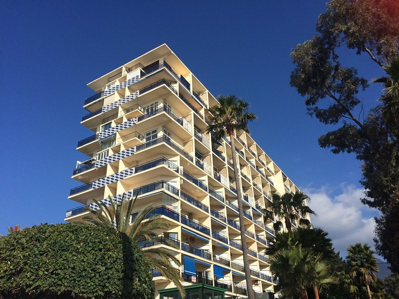 Skol Apartments, Marbella - beachfront central location 2 bedrooms, holiday rental in Marbella