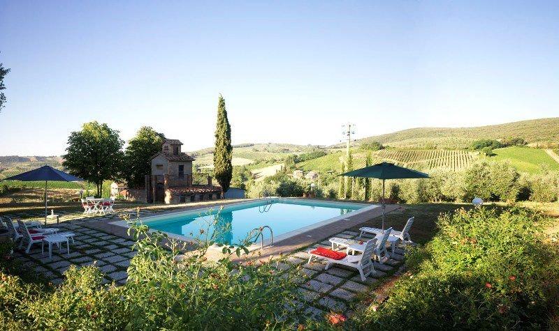 Villa Podere la Tesa, vakantiewoning in San Gimignano