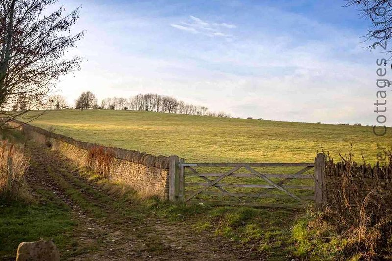 Broad Campden is surrounded by the stunning Cotswold countryside