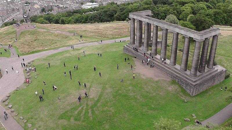 Our favourite place in Edinburgh? Definately Calton Hill!