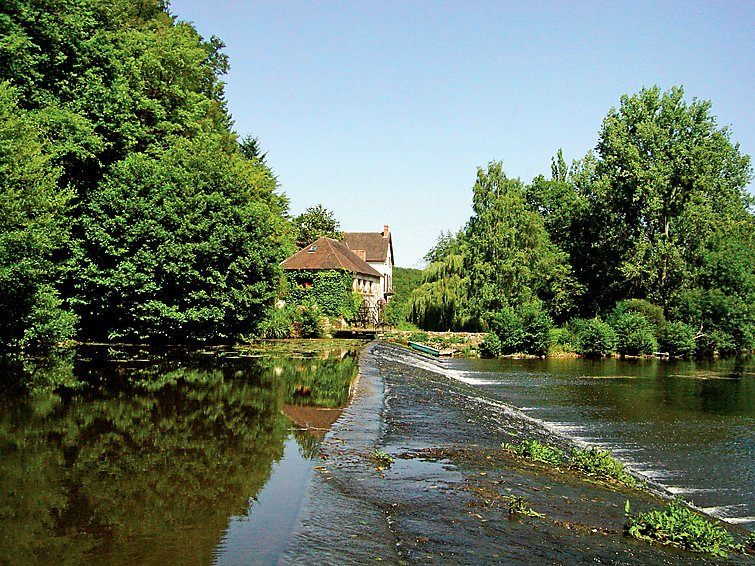 View of the property and the water weir