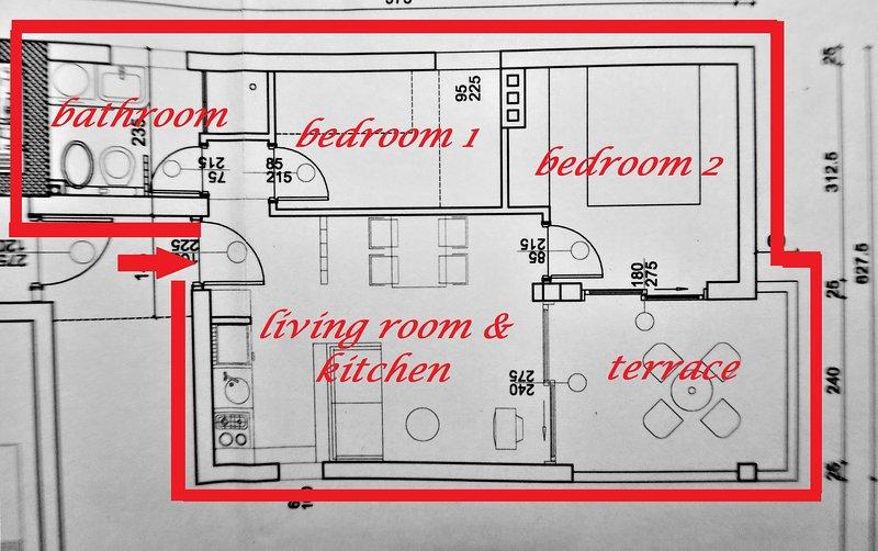 klayout διαμέρισμα