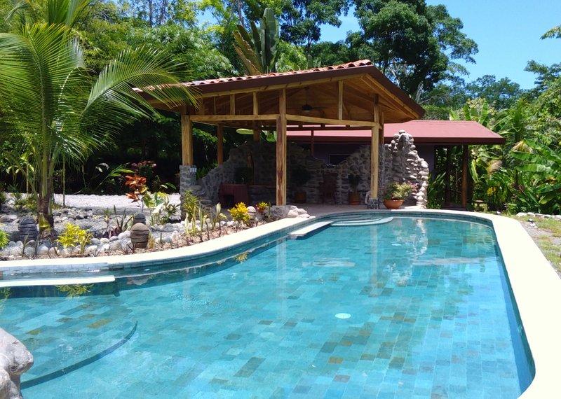 Allez nager dans notre piscine 50ft