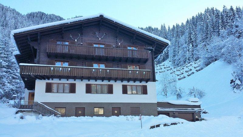Alpenliebe Montafon - Ferienwohnung für 2-6 Personen im Silbertal an der Piste, location de vacances à Vorarlberg
