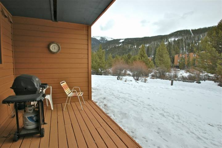 Relax and enjoy the views from the back deck.
