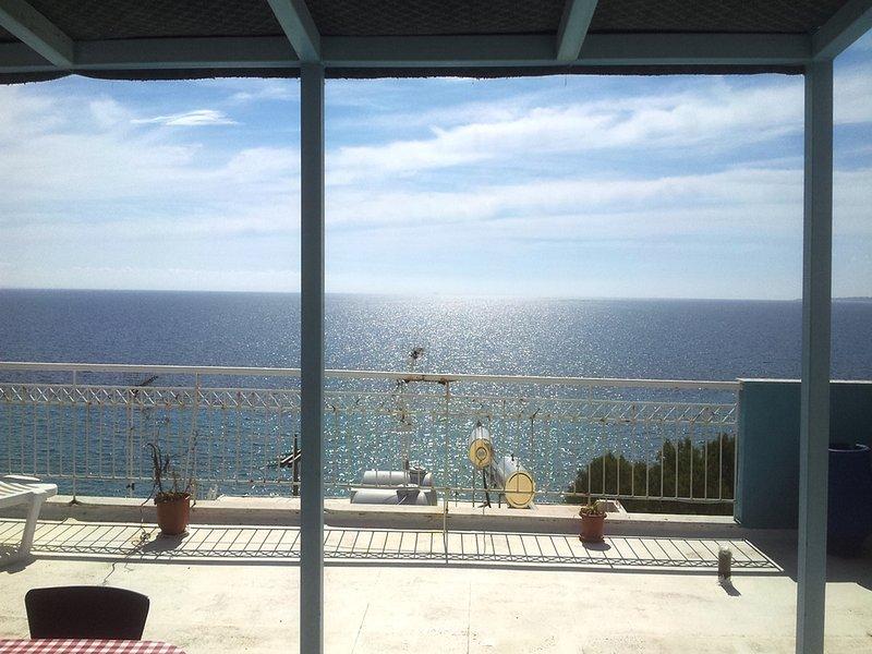 SEAFRONT APT., BIG TERRACE, A/C, WIFI, LIFT, CHEAP & CLEAN, location de vacances à Zakynthos Town