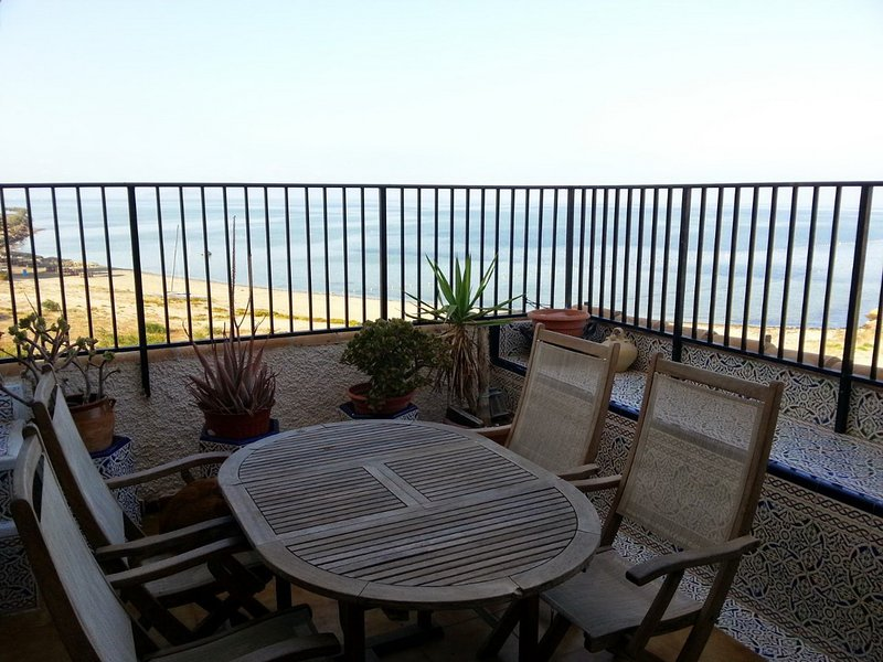 Spacious apartment with sea view, vacation rental in Murcia