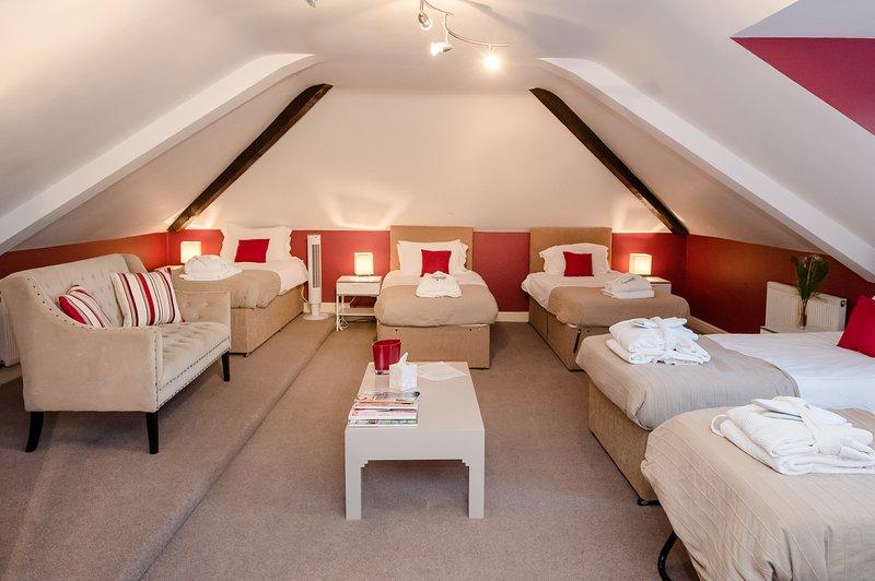 Les Big Brother Dorm 10 lits simples / ou lit king avec 8 lits simples.