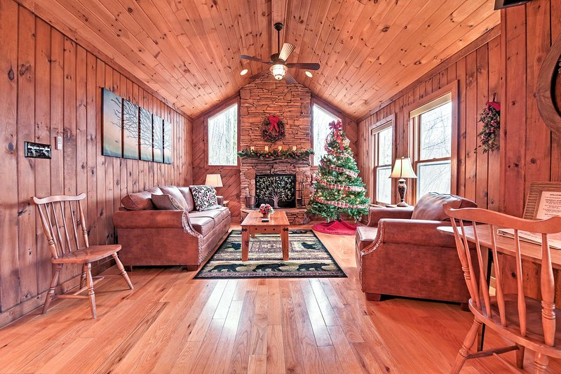 Peace and tranquility await at this Beech Mountain vacation rental house!