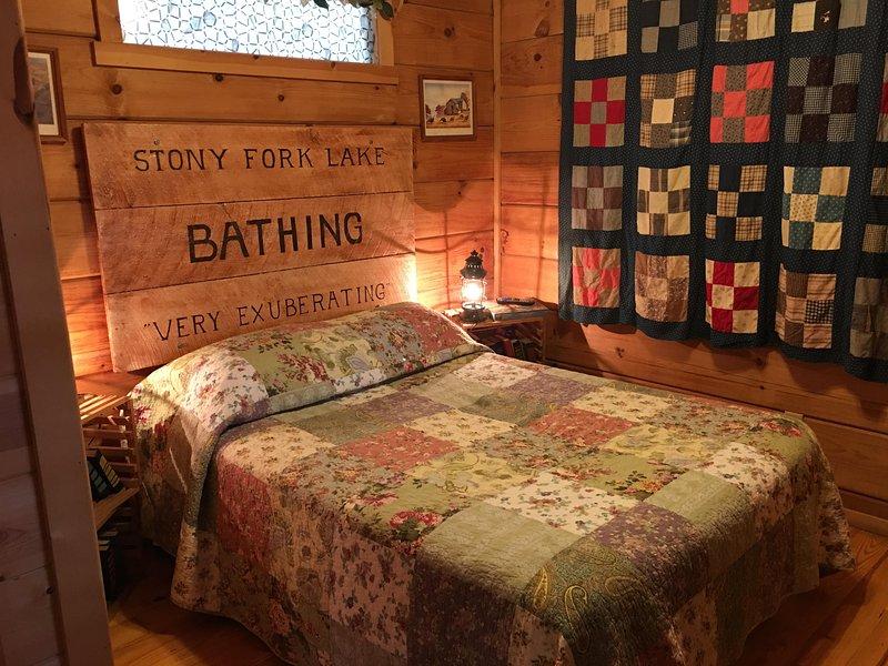 Big Queen size bed!