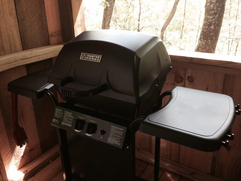 Gas grill (We provide the gas)!