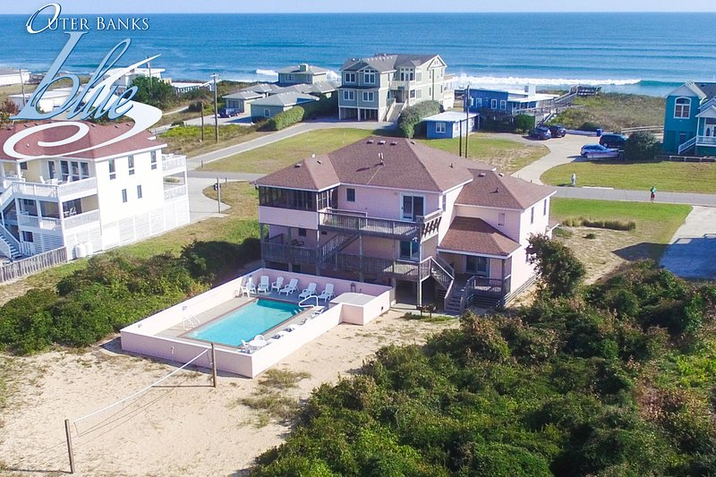 Atlantic Belle | 445 ft from the beach | Private Pool, Hot Tub | Southern Shores, alquiler de vacaciones en Southern Shores