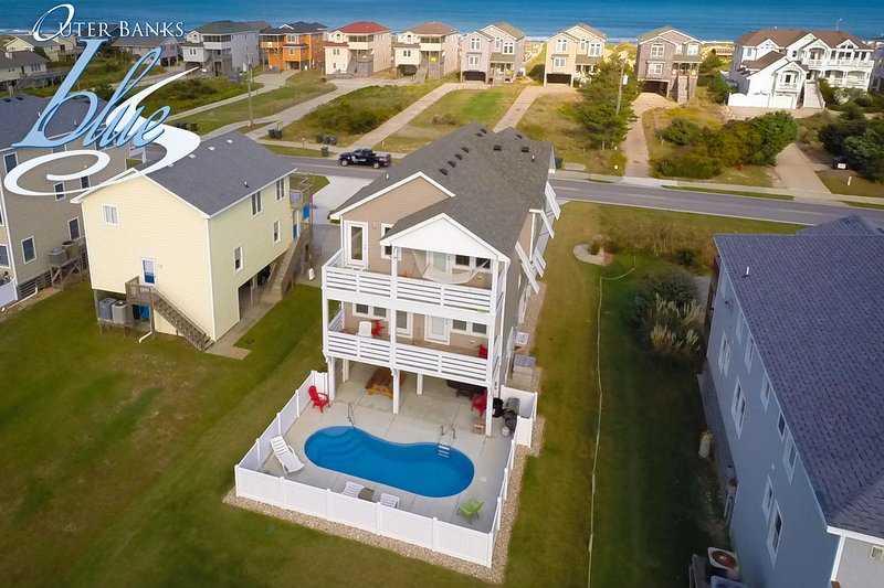 Toes in the Water | 600 ft from the beach | Private Pool, Hot Tub | Nags Head, location de vacances à Nags Head