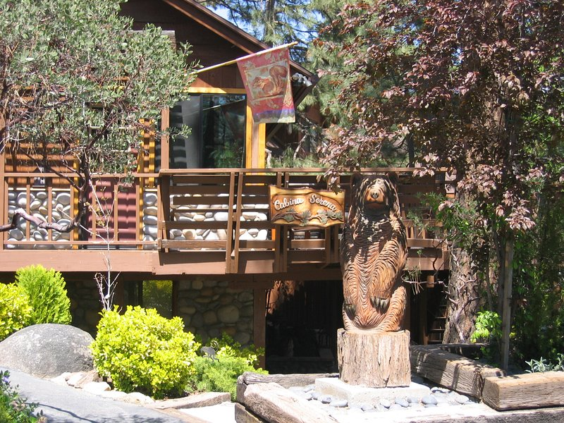 Designer Two-Story Sunbelt Cabin ~ Gorgeous Mountain & Valley Views, holiday rental in Idyllwild