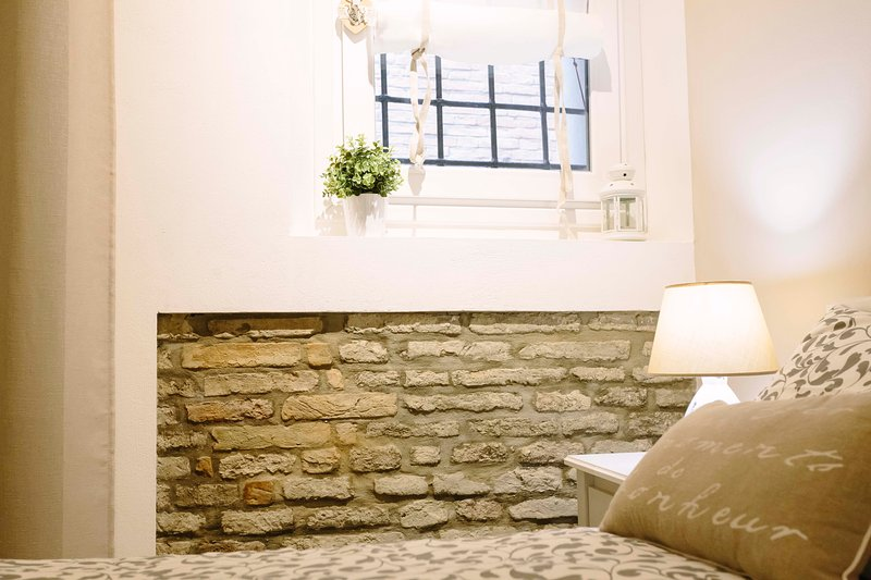 especially in exposed stone wall