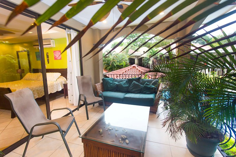Just come and relax in our balcony