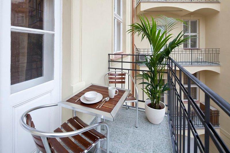 OLD TOWN - STUDIO BALCONY DUSNI, vacation rental in Prague