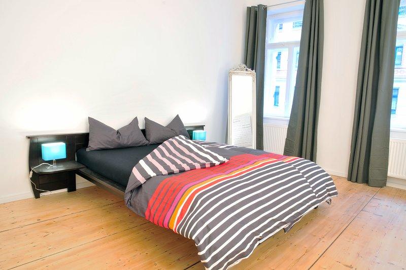 Moderne Wohnung im Altbau 'Doris', aluguéis de temporada em Leipzig