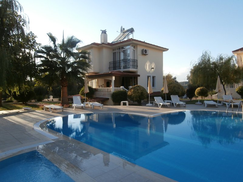 Villa Fleurie  is on a lovely small site near to Fethiye and Olu Deniz