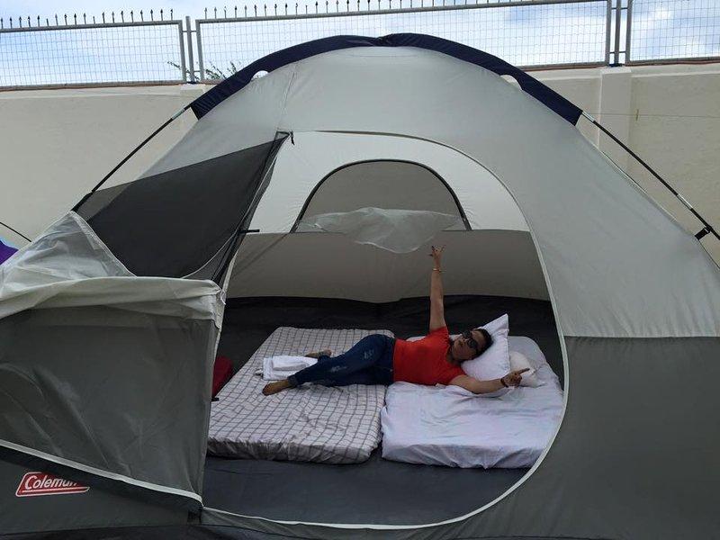 Tent (ajuste 6pax), temos 3 tent ...