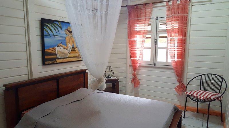 Bungalows chaleureux dans havre de paix, location de vacances à Guadeloupe
