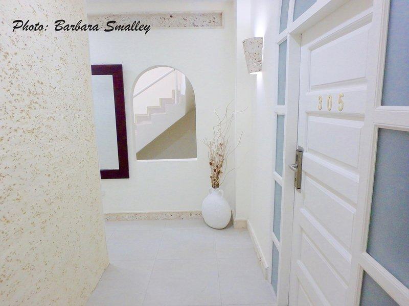 Lovely building hallway