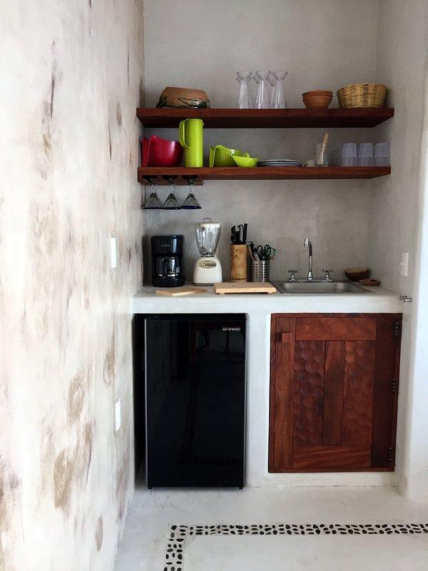 TERRACOTA minibar et terrain de margarita