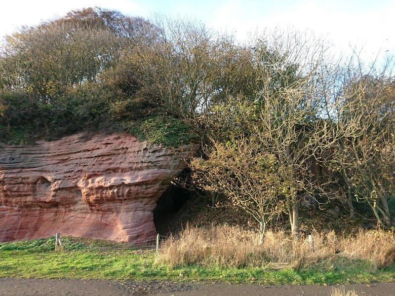 Una de las cuevas - la cueva Corte.