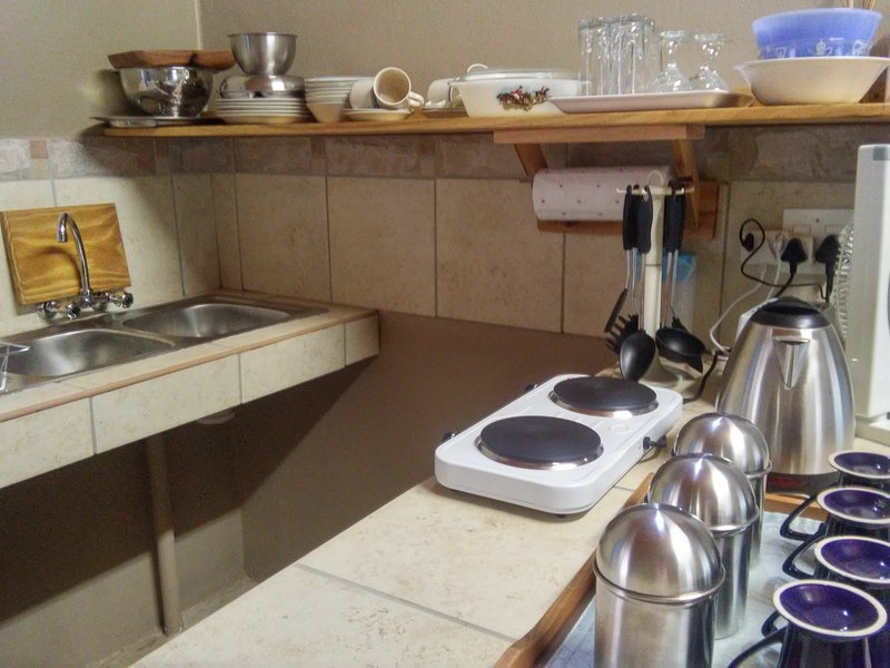 Fully equipped kitchen for self-catering