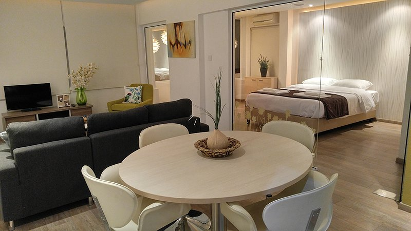 THE HIVE Luxurious Designer 2bedroom, Ferienwohnung in Nikosia