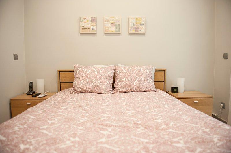 Komfortable Doppelbett