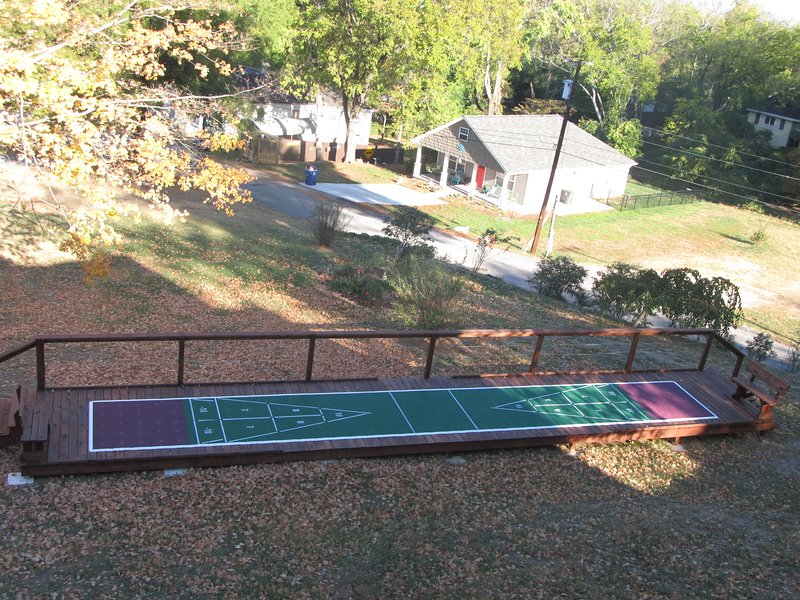 Shuffleboard for you and the kids.