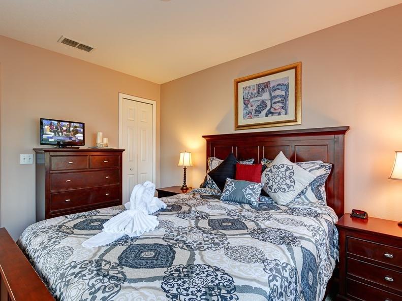 Un lit confortable pour que le repos tout important.