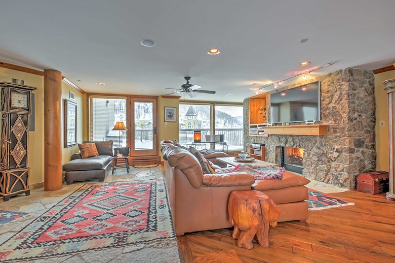 Escape to this Vail Resort condo any time of the year!