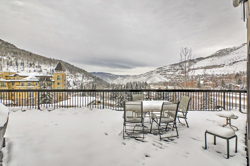 Let this tremendous Vail vacation rental condo be your own personal slice of mountain heaven!