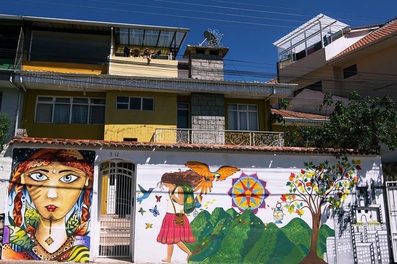 Suite en bed and breakfast, alquiler de vacaciones en Cuenca