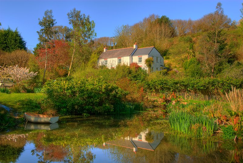 Ideally located farmhouse among woods and ponds, holiday rental in Come to Good