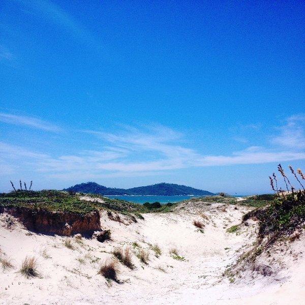 Campeche Inselansicht Spur