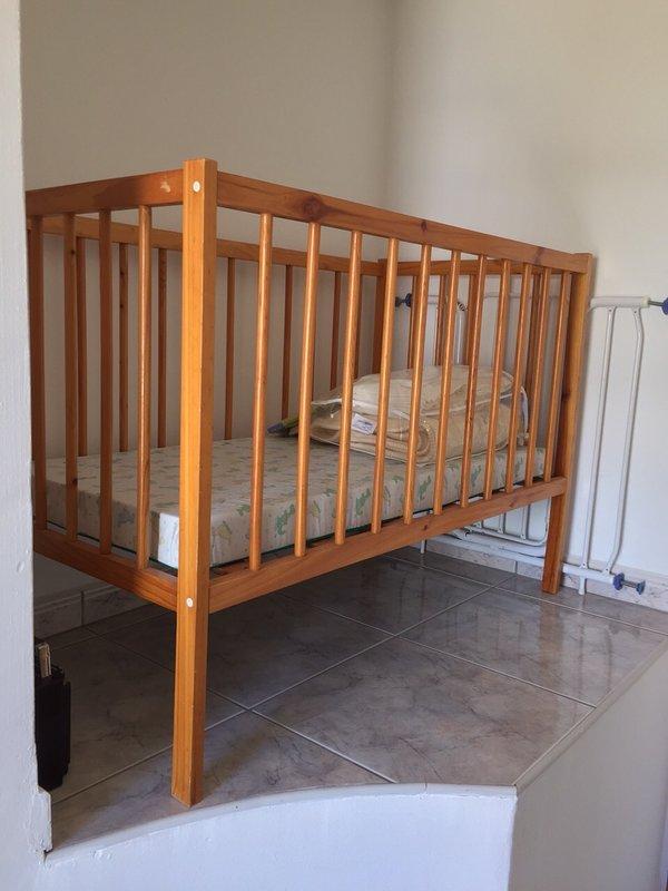 Cot in Second Bedroom