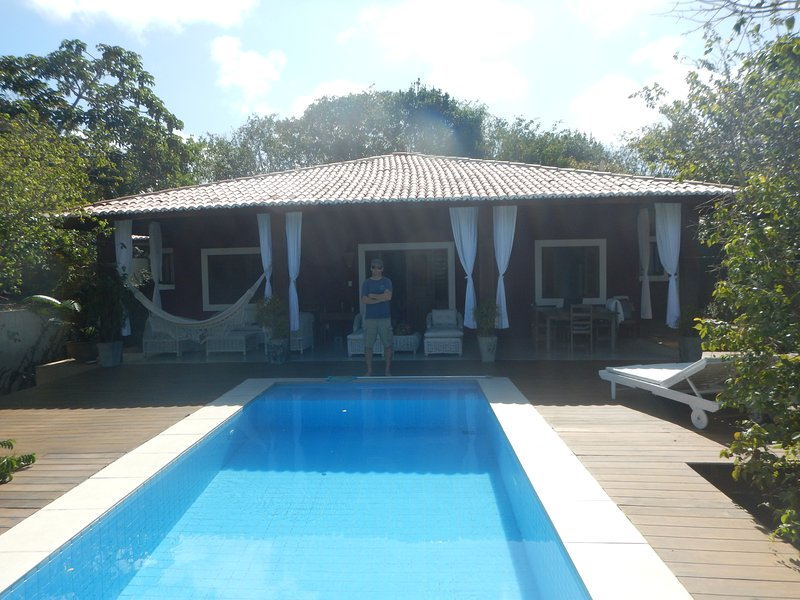 Traumhaus mit Pool, Privacy, Ruhe, holiday rental in Tibau do Sul