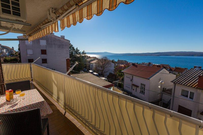 Sea view  #balcony #apartment #crikvenica