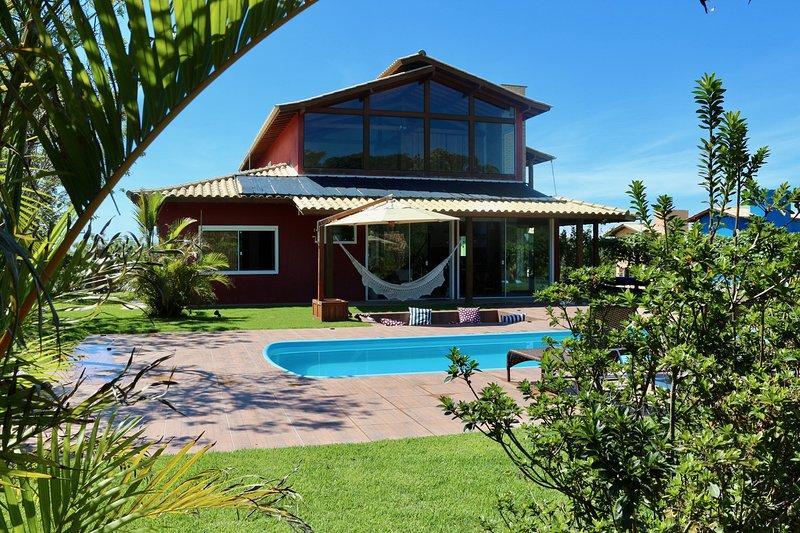 Redhouse Ibiraquera Hospedaria- Lagoa Alto Padrão 320m2, holiday rental in Ibiraquera