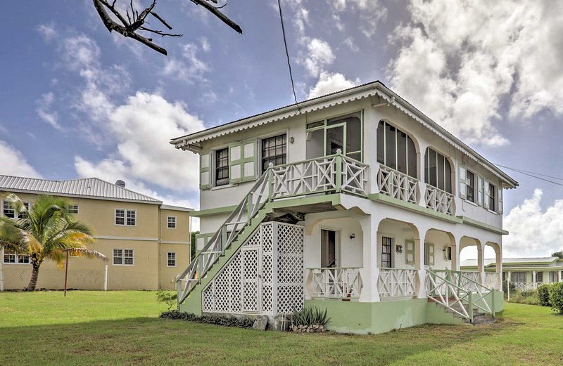 Get ready for island adventure at this Charlestown vacation rental house!