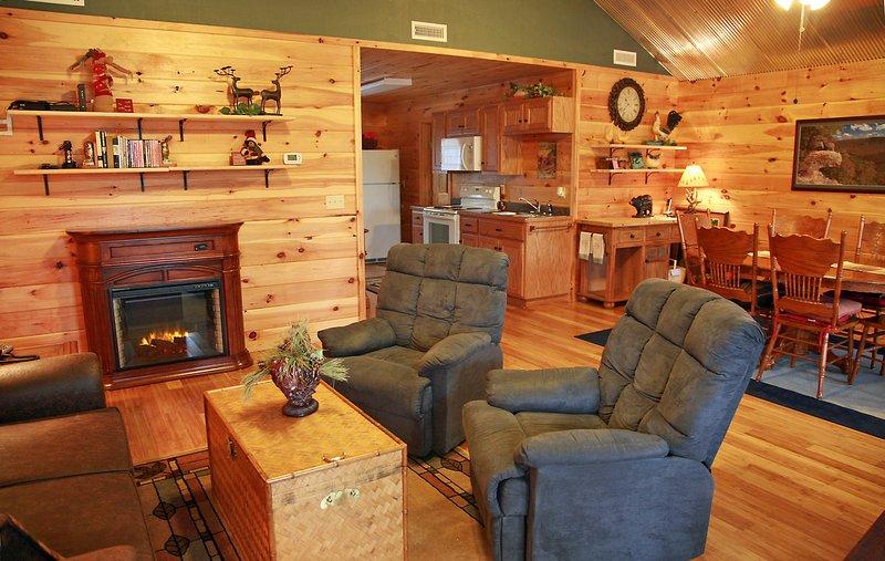 El interior está limpio y confortable, con todas las comodidades para hacer su estancia muy agradable.